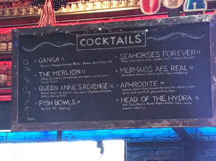 Better drink menu